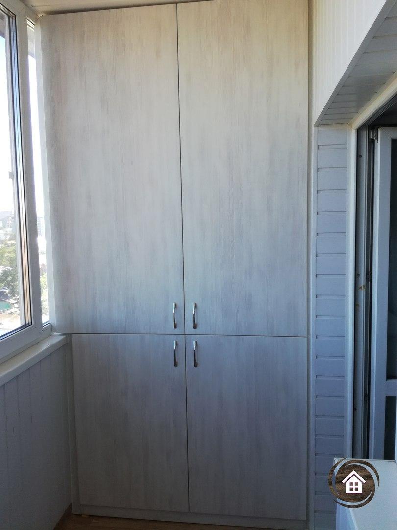 Шкаф на лоджию 1
