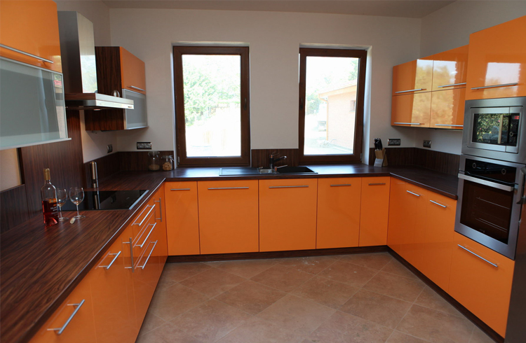 p-shaped kitchens to order in Omsk 03